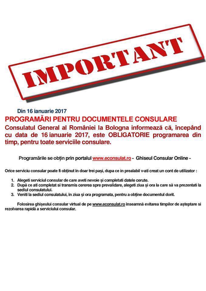 important consulat bologna